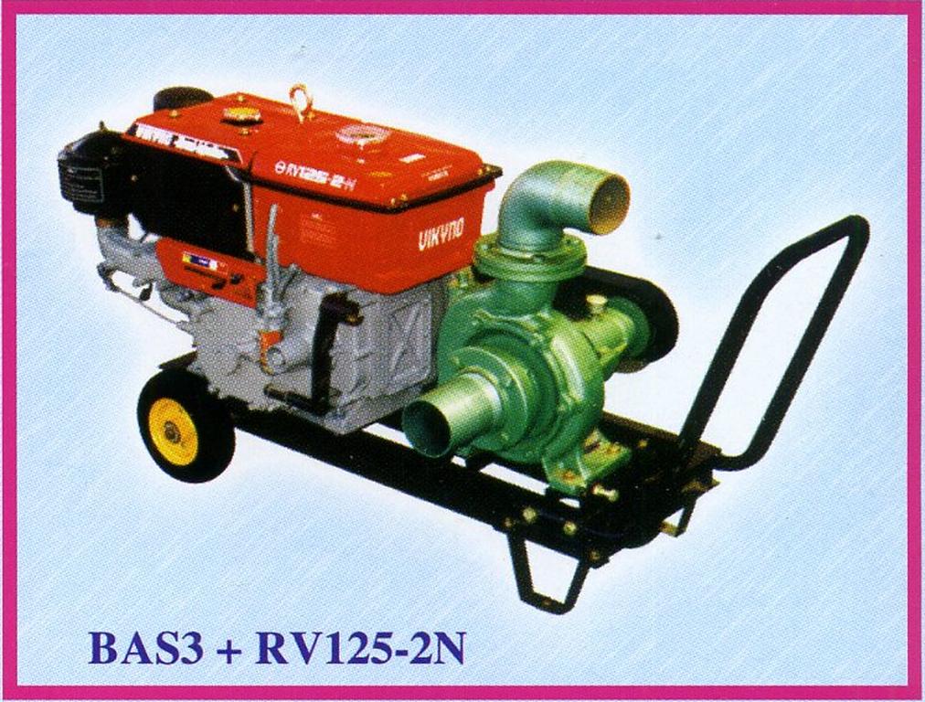 Máy bơm nước BAS3 + RV125-2N