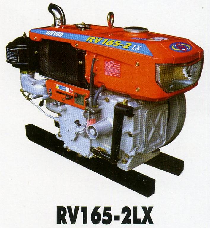 Động cơ dầu RV165-2LX