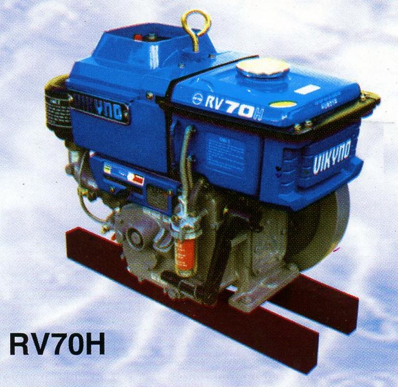 Động cơ dầu RV70