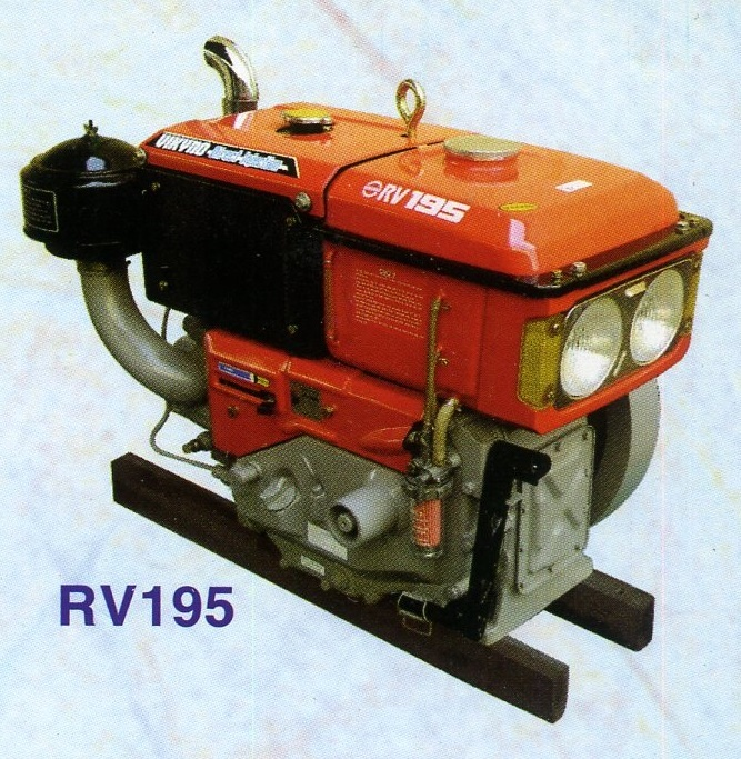 Động cơ dầu RV195